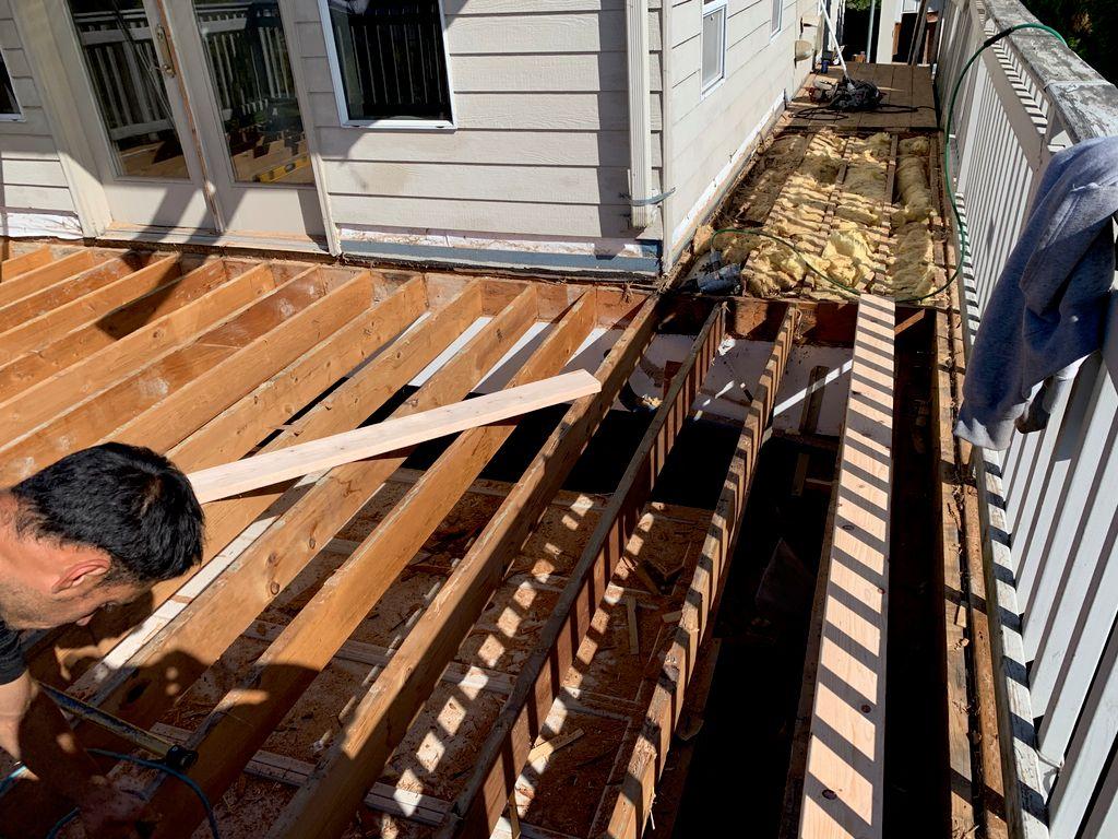 Walkable deck