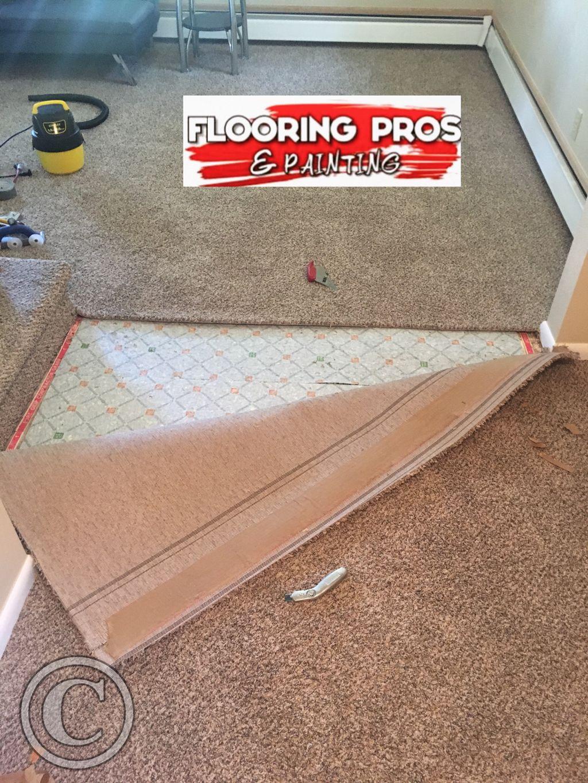 Basement Flood - Re Install Carpet & Pad