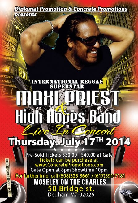 Maxi Priest Live in Concert