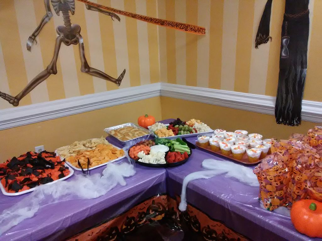Halloween party at a Nursing home