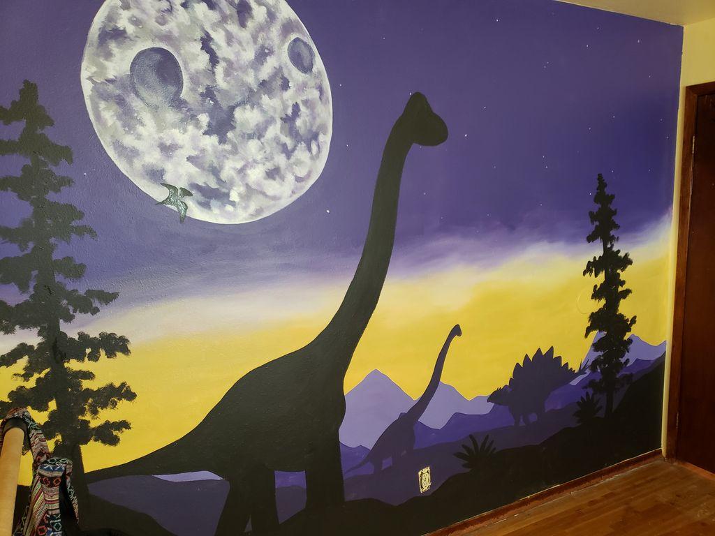 Dino Mural