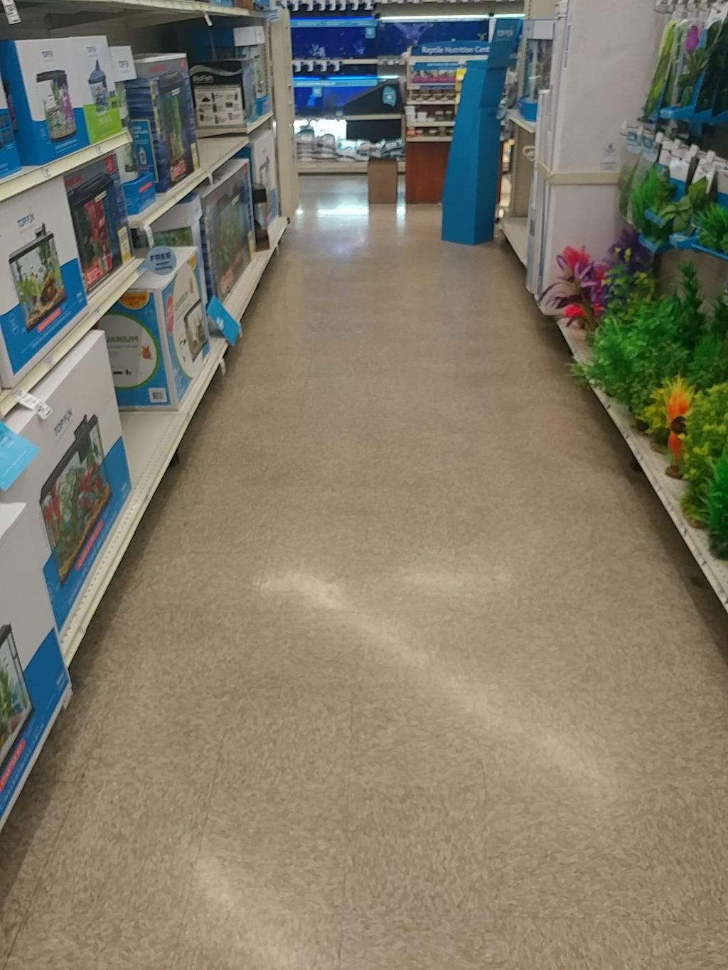 Strip and Wax VCT TILES