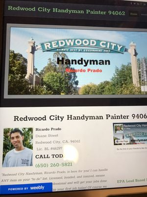 Avatar for Redwoodcityhandymanpainter