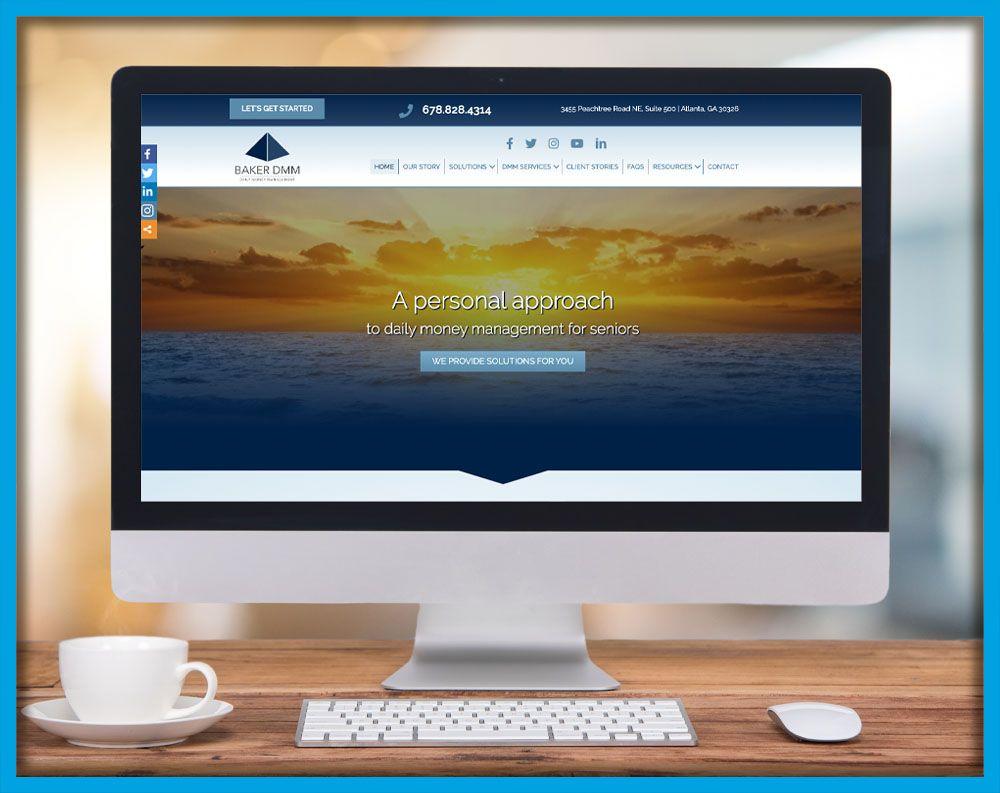 Baker DMM Website Design