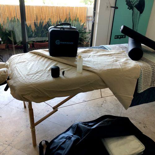 Massage setting