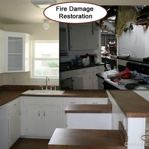 Fire Damage Repair / Qualico Inc