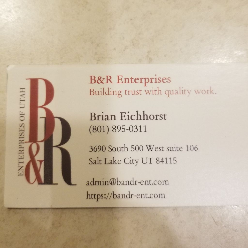 B and R Restorations and Renovations