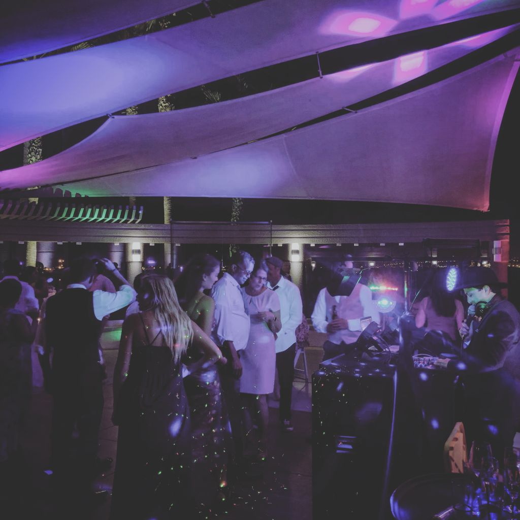 Intimate Wedding With All 30 Dancing