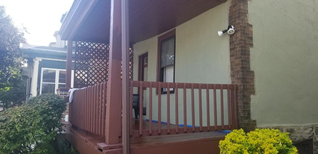 Exterior Porch Painting