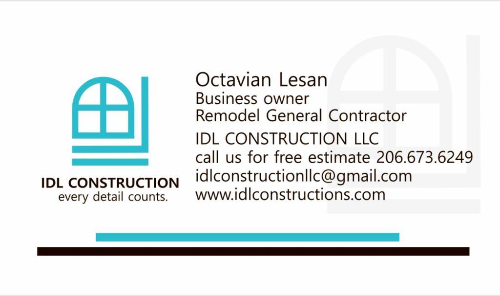 IDL CONSTRUCTION LLC