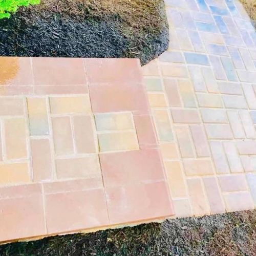 (Cranberry Area)  Sierra Blend Paver, Bullnose Custom Staircase and Walkway  Over 1800 Photos Now Available on Facebook Business Page 😉