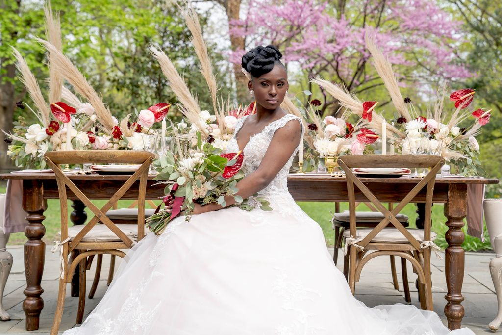 Outdoor wedding styleshoot
