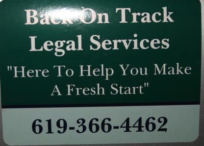 Avatar for Back On Track Legal Services Poway, CA Thumbtack