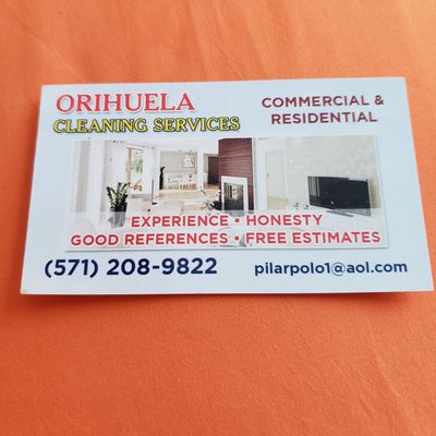 Avatar for Orihuela cleaning Service's