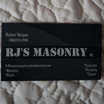 Avatar for RJ'S Masonry INC Pomona Park, FL Thumbtack