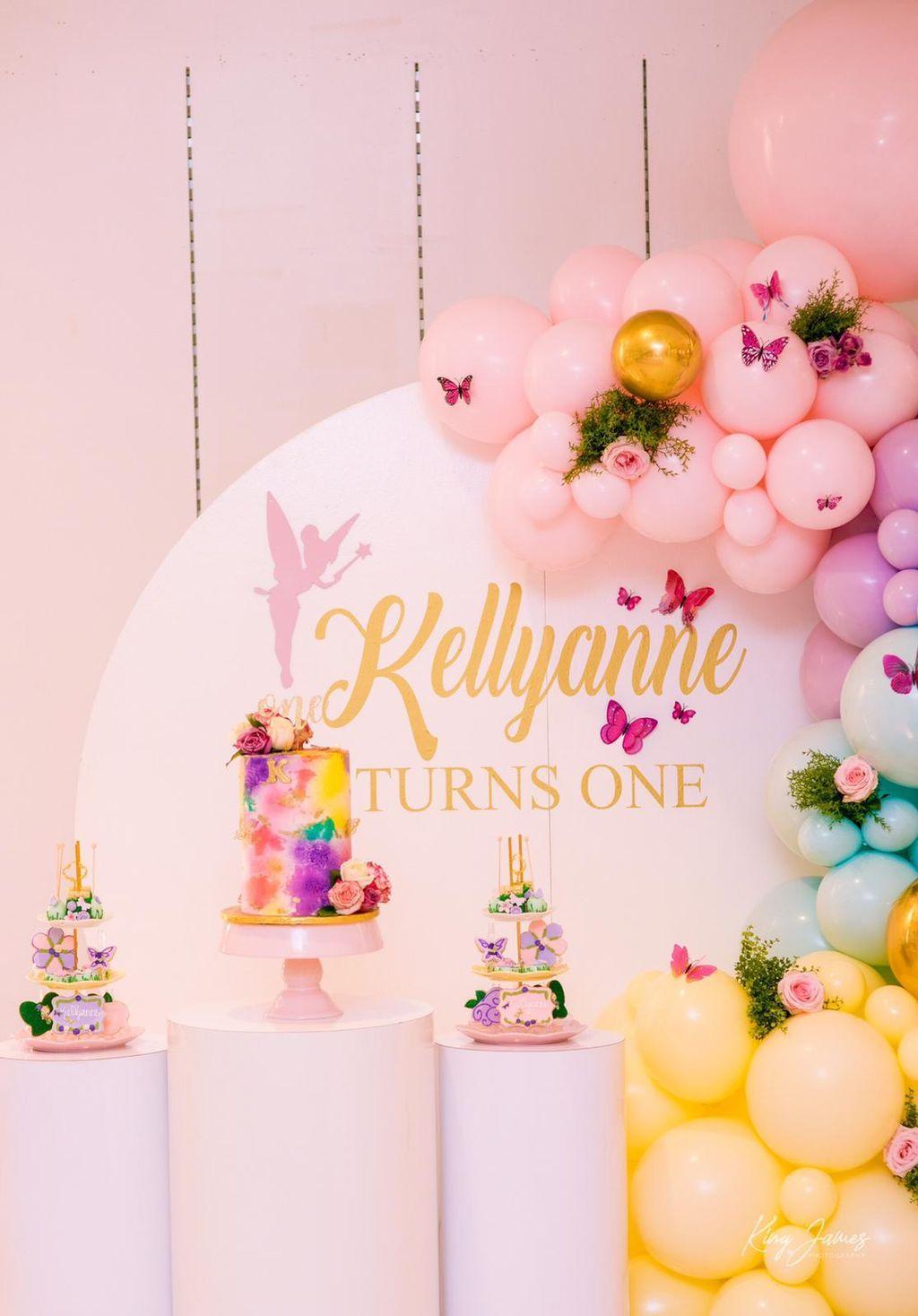 Kellyanne turns 1