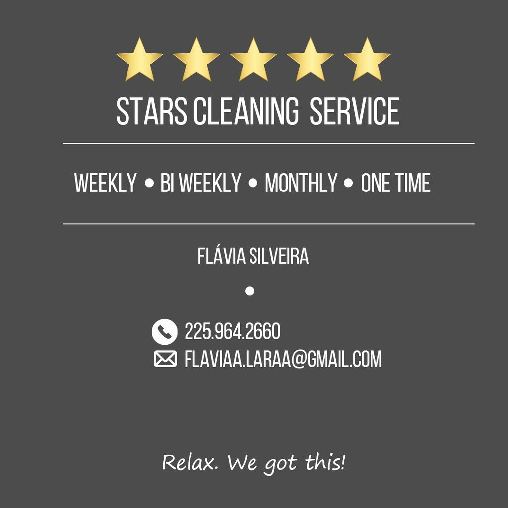 Five stars cleaning service