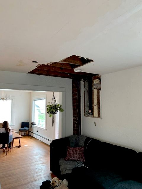 Full home repair and re-plaster