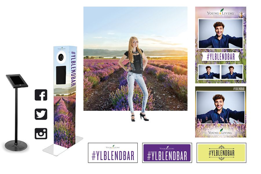 Young Living Photo Booth