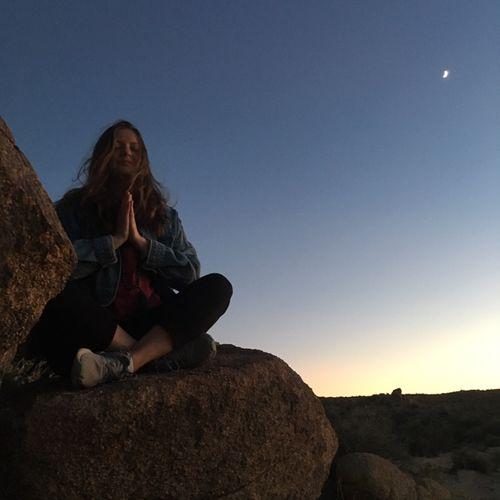 New Moon meditation in Joshua Tree