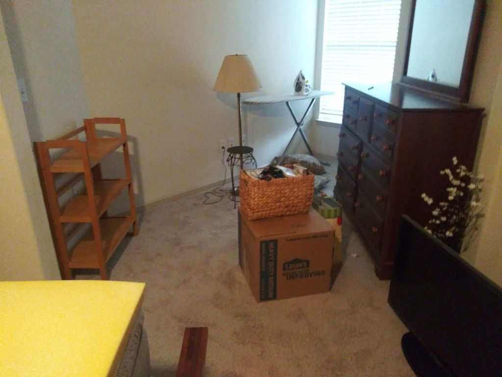 1 bed room move