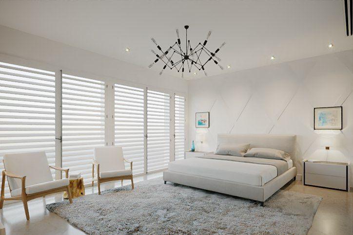 Four seasons inspired bedroom