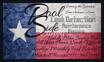 Avatar for Pool Side Leak Detection Maintenance&Handyman Converse, TX Thumbtack