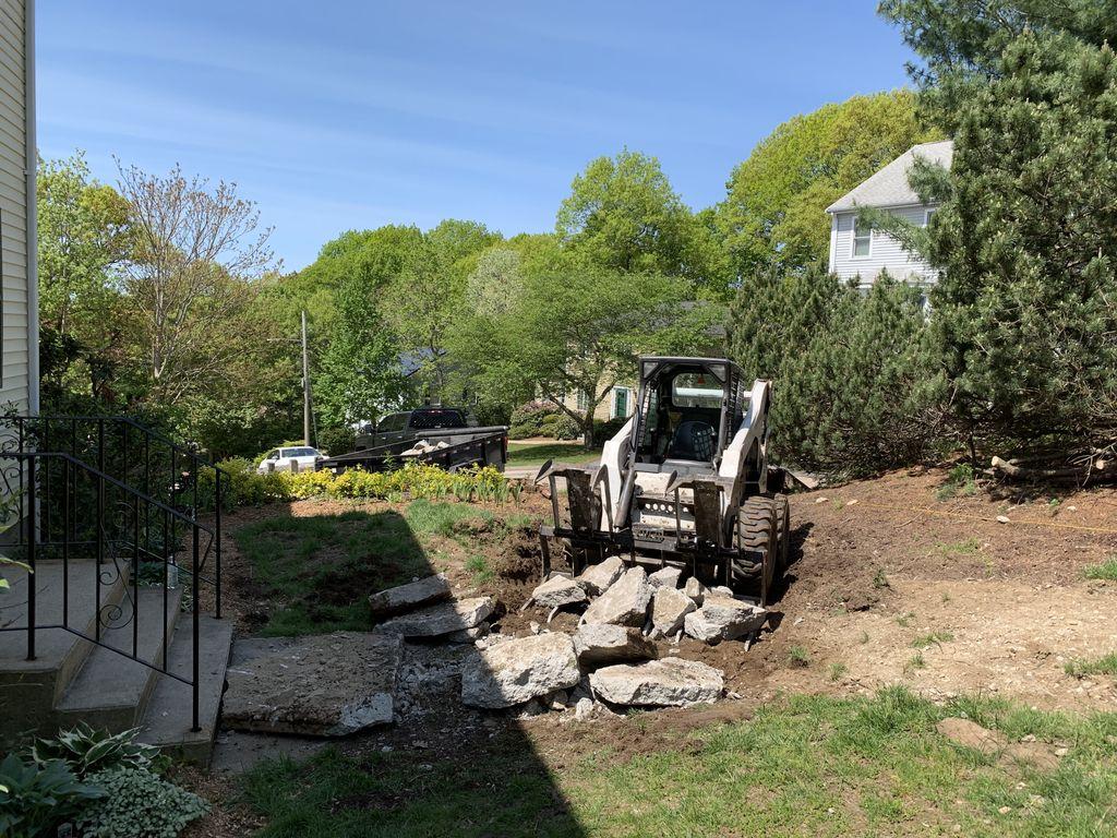 Concrete Walkway Removal