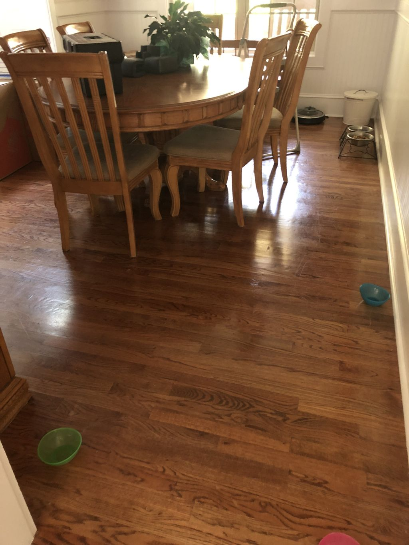 700 Sqft Refinish flooring