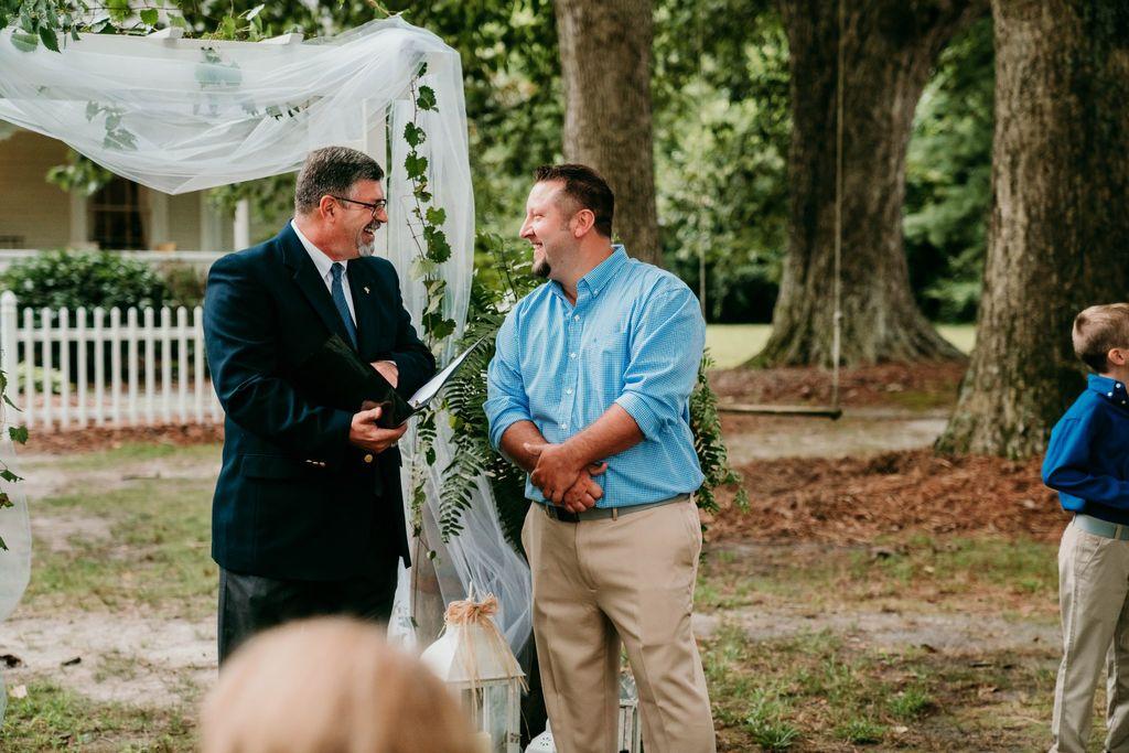 Wedding Officiant - Ayden 2019