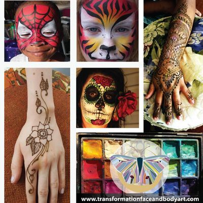 Avatar for Transformation face and body art