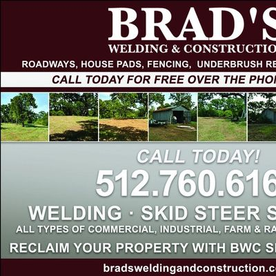Avatar for Brad's Welding and Construction Services