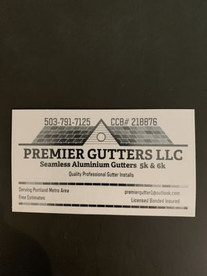 Avatar for Premier gutters llc
