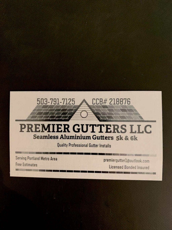 Premier gutters llc