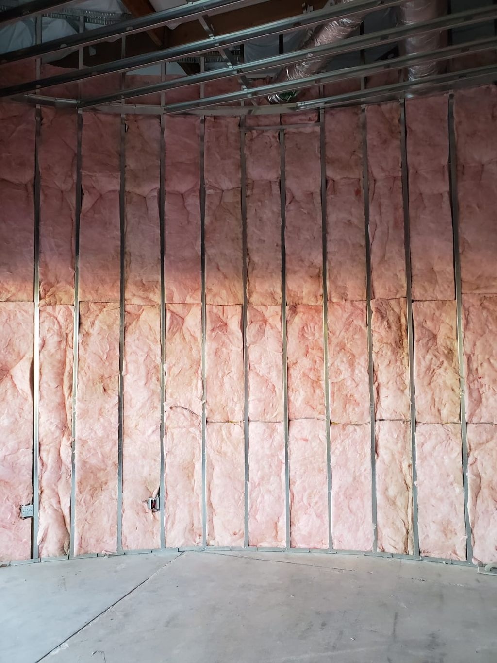 commercial insulation and duct installation