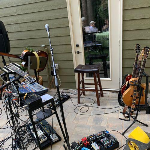 My Looping Rig for a Thumbtack gig