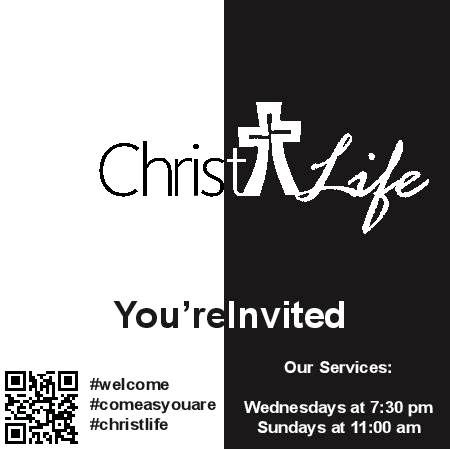 Postcard Design for Church