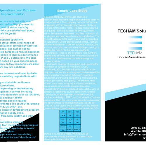 Tri-Fold Brochure Design - Page 1