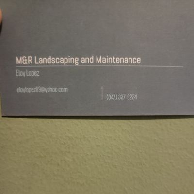 Avatar for M. R lanscaping and  maintenance