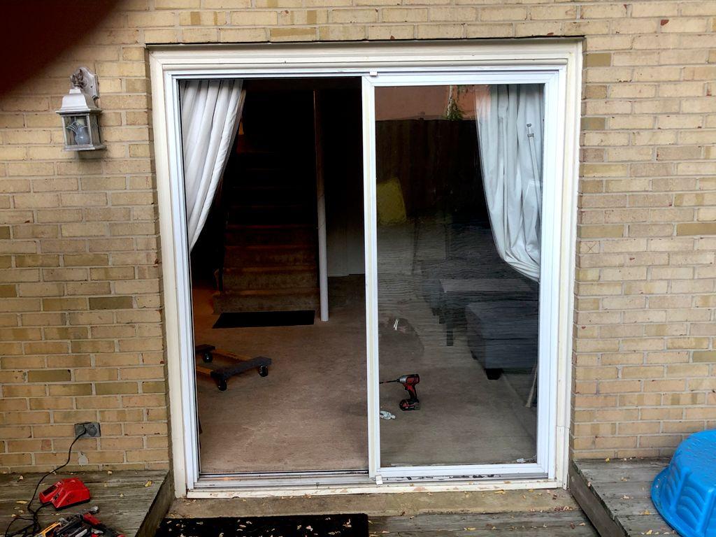 Patio door replaced
