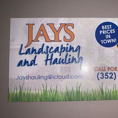 Avatar for Jay's Landscaping & Hauling Spring Hill, FL Thumbtack