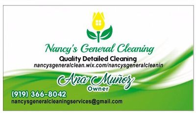Avatar for Nancy's General Cleaning Services Durham, NC Thumbtack