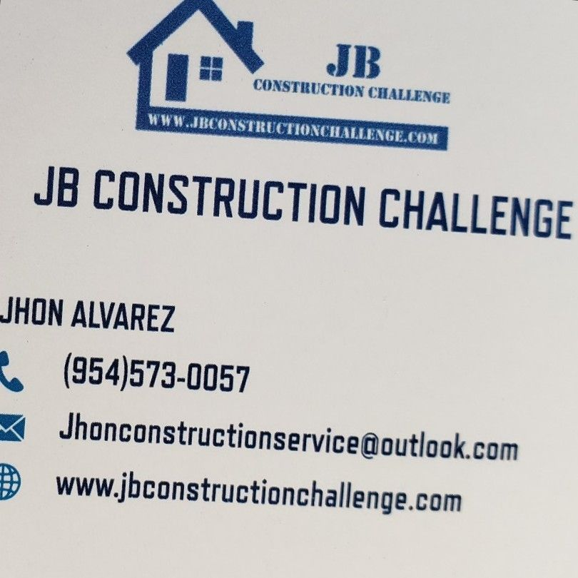 Jb Construction Challenge