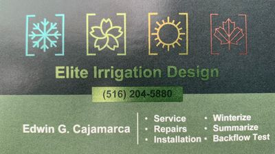 Avatar for Elite Irrigation Westbury, NY Thumbtack