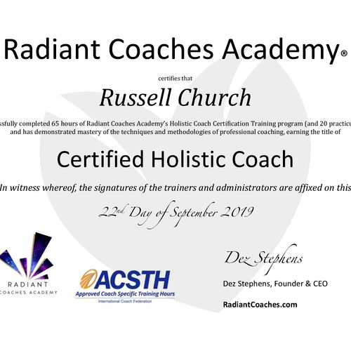 ICF Trained Coach