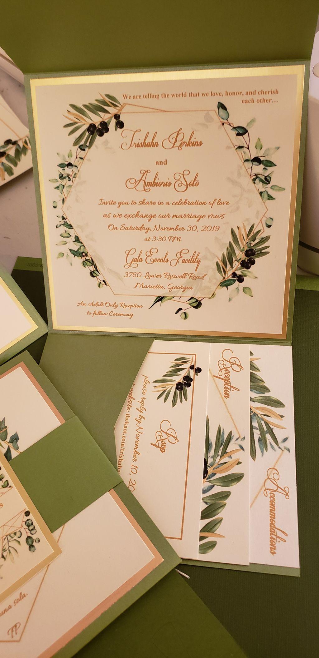 Wedding and Event Invitations - Suwanee 2019