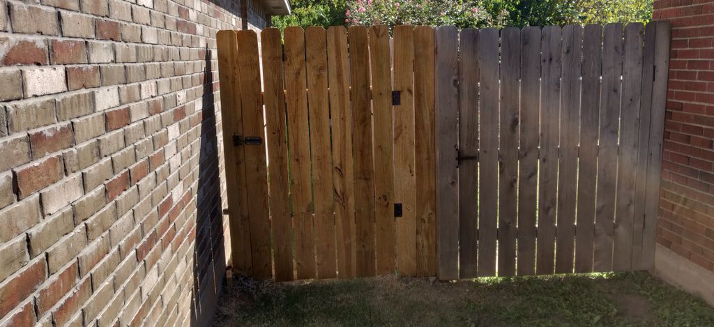 Fence repair and water seal