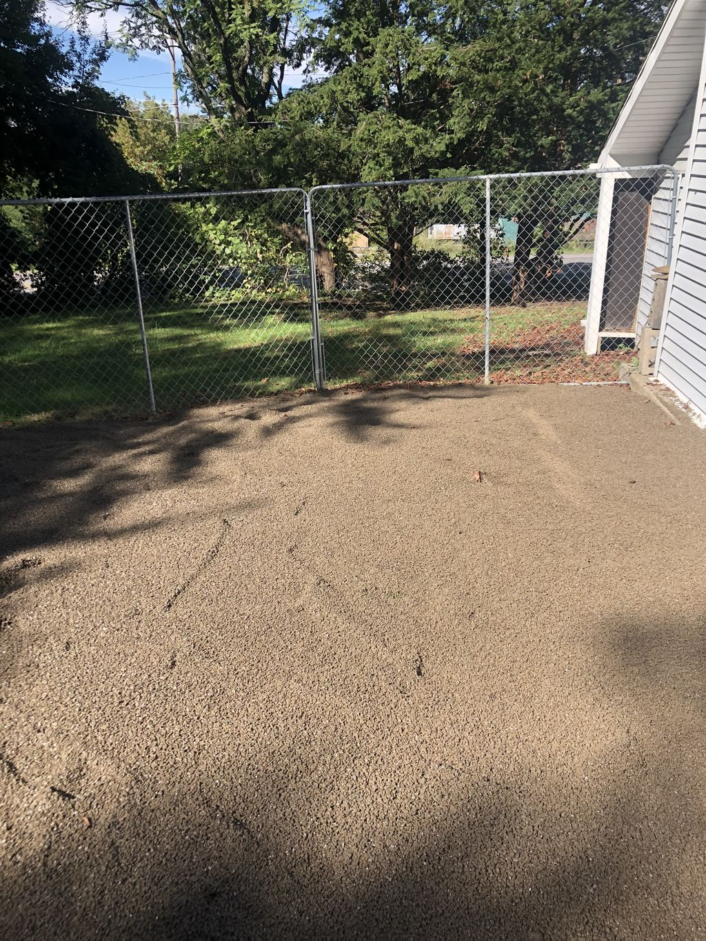 Dog Kennel and Driveway