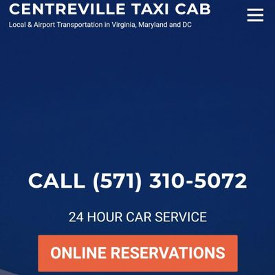 Avatar for Centreville taxi cab Centreville, VA Thumbtack