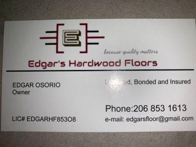 Avatar for Edgar's Hardwood Floors . Renton, WA Thumbtack